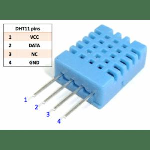 سنسور رطوبت و دما – سنسور آب و هوا DHT11