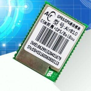 ماژول GPRS / GSM / GPS چهار باند Air810 دارای ارتباط سریال