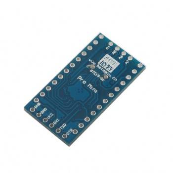 برد آردوینو Pro Mini دارای پردازنده مرکزی ATMEGA168 ولتاژ  3.3 ولت