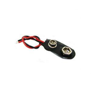 سوکت باتری کتابی ۹ ولت
