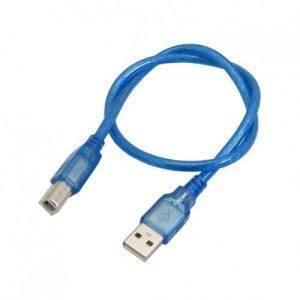 کابل ۵۰ سانتی متری پرينتر USB مناسب برای پروگرام بردهای آردوینو